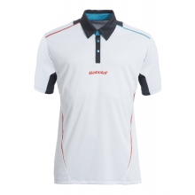 Babolat Tennis-Polo Match Performance #15 weiss Jungen
