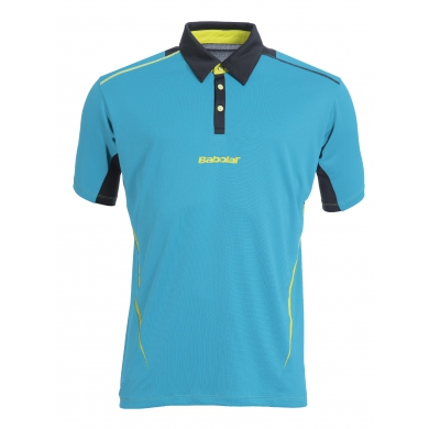 Babolat Polo Match Performance 2015 blau Boys