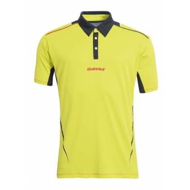 Babolat Polo Match Performance 2015 gelb Herren