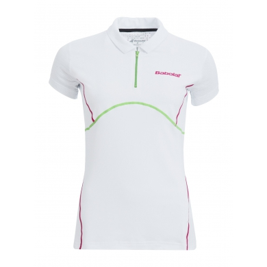 Babolat Polo Match Performance 2015 weiss Girls