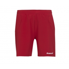 Babolat Short Match Core 2015 rot Boys
