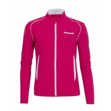 Babolat Jacket Match Core 2015 kirschrot Girls