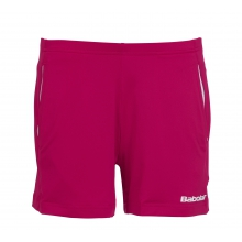 Babolat Short Match Core 2015 kirschrot Damen