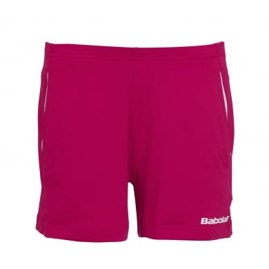 Babolat Short Match Core 2015 kirschrot Girls