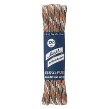 Barth Schnürsenkel Bergsport halbrund orange/weiß/beige 120cm