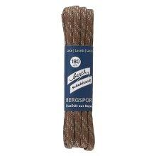 Barth Schnürsenkel Bergsport halbrund hellbraun/beige 180cm