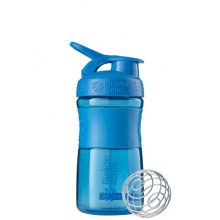 BlenderBottle Trinkflasche Sportmixer Grip 590ml cyan