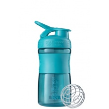 BlenderBottle Trinkflasche Sportmixer Grip 590ml teal