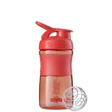 BlenderBottle Trinkflasche Sportmixer Grip 590ml koralle
