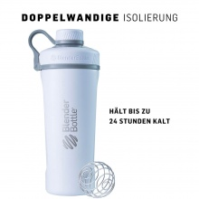 BlenderBottle Trinkflasche Radian Thermo Edelstahl 770ml silber