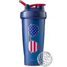 BlenderBottle Trinkflasche Classic Loop 2018 820ml USA blau