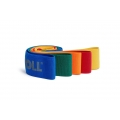 Blackroll Fitnessband Loop Band (gelb/orange/rot/grün/blau/schwarz) 6er Set