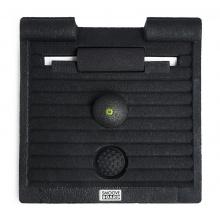 Blackroll Stehmatte Smoove Board mit Blackroll Mini, Ball 08 und Twister rot/schwarz