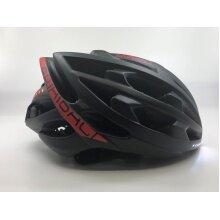 Baabali Fahrradhelm Strato One schwarz/rot