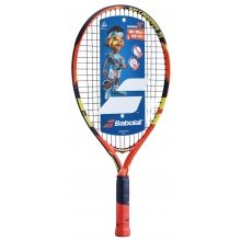 Babolat Ballfighter 21 orange/blau Kinder-Tennisschläger (4-7 Jahre) - besaitet