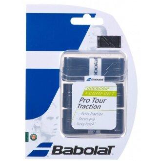 Babolat Pro Tour Traction Overgrip 3er schwarz