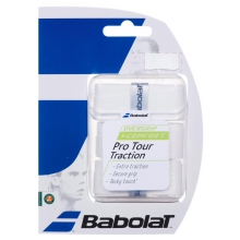 Babolat Pro Tour Traction Overgrip 3er weiss