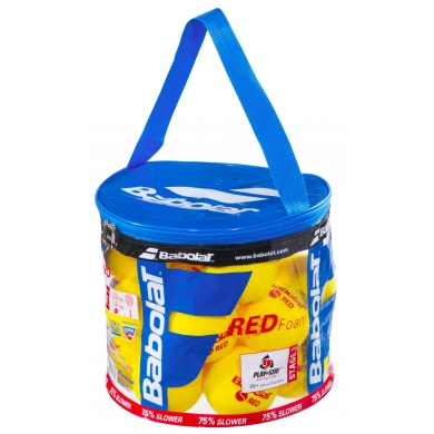 Babolat Stage 3 Red Foam Schaumstoffbälle 24er