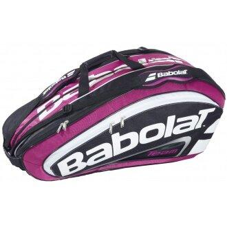 Babolat Racketbag Pro Team 2014 rose 12er