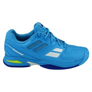 Babolat Propulse TEAM AC 2016 hellblau Tennisschuhe Kinder