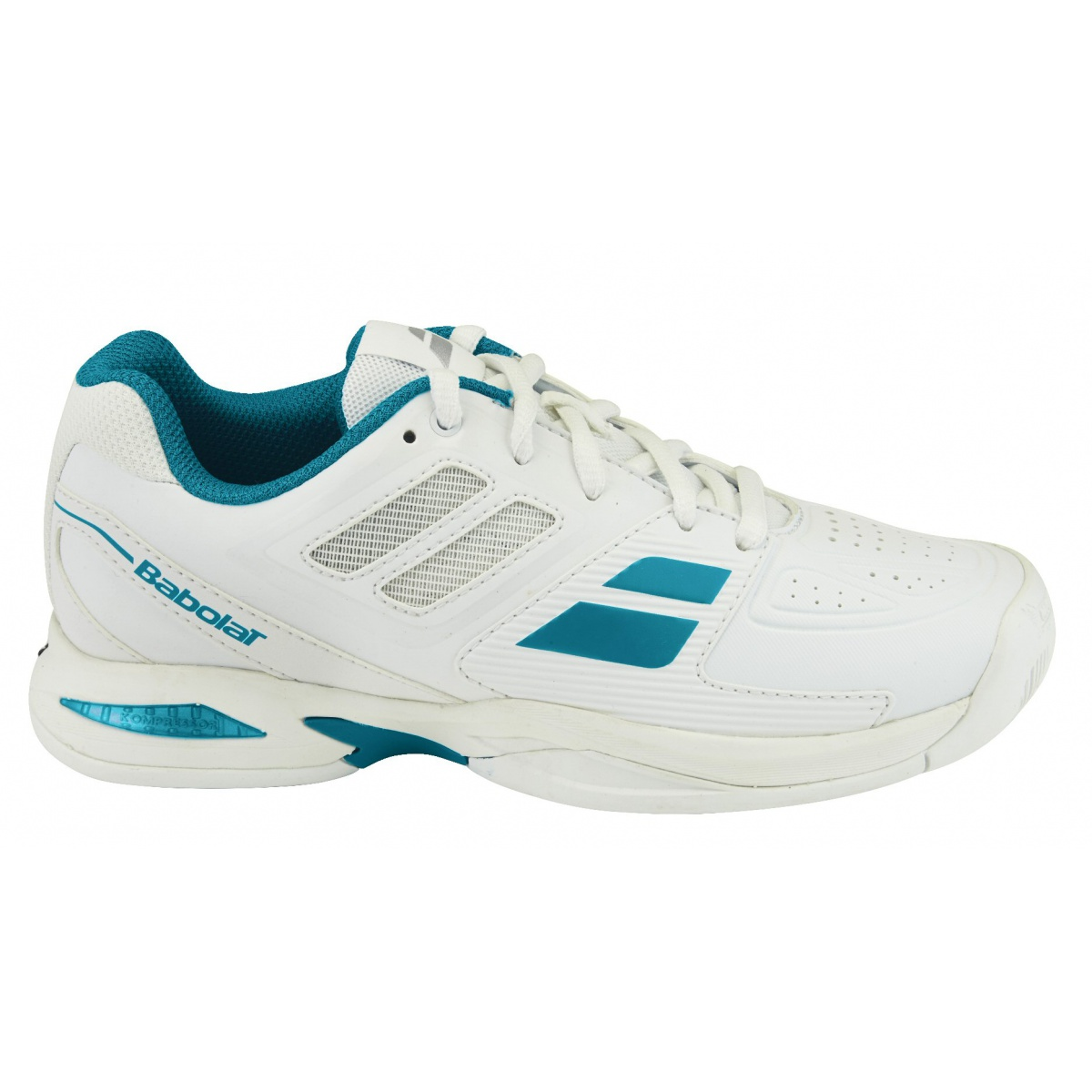 Propulse Team All Court Schuhe Kinder, WeiÃY, 31 Babolat