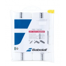 Babolat Overgrip Pro Tacky 0.6mm weiss 12er