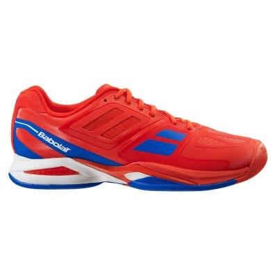 Babolat Propulse TEAM Allcourt 2016 rot/blau Tennisschuhe Herren
