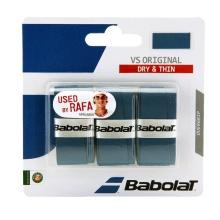 Babolat Overgrip VS Grip (trocken, glatt) 0.4mm blau 3er