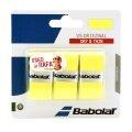 Babolat Overgrip VS Grip (trocken, glatt) 0.4mm gelb 3er