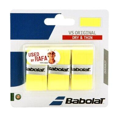 Babolat VS Grip Original 3er gelb