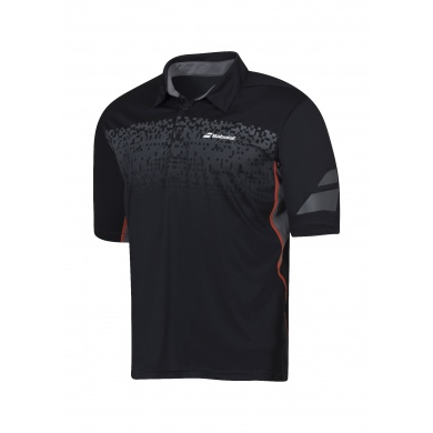 Babolat Polo Performance 2016 schwarz Boys