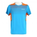 Babolat Tshirt Performance Crew Neck 2017 blau/orange Herren