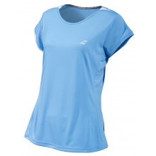Babolat Shirt Performance Cap Sleeve 2019 hellblau Damen