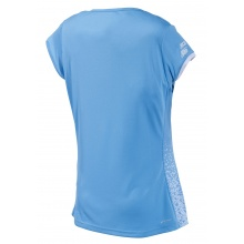 Babolat Tennis-Shirt Performance Cap Sleeve hellblau Damen