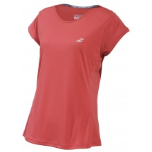 Babolat Shirt Performance Cap Sleeve #19 rot Damen