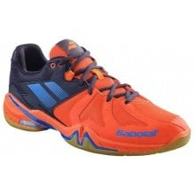 Babolat Shadow Spirit 2019 orange/navy Badmintonschuhe Herren