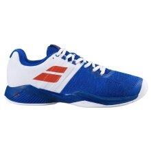 Babolat Propulse Blast Carpet 2020 blau/weiss Indoor-Tennisschuhe Herren