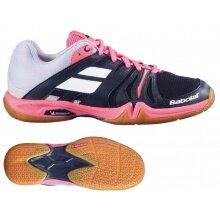 Babolat Shadow Team 2021 schwarz/pink Hallen-Badmintonschuhe Damen