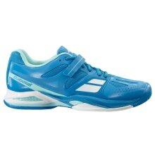 Babolat Propulse Allcourt 2016 blau Tennisschuhe Damen