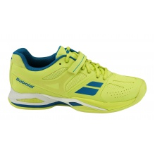 Babolat Propulse CLAY 2016 gelb Tennisschuhe Damen