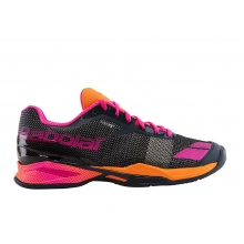 Babolat JET Clay grau/orange/rosa Sandplatz-Tennisschuhe Damen