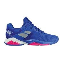 Babolat Propulse Fury blau Allcourt-Tennisschuhe Damen