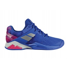 Babolat Propulse Fury Clay 2018 blau Tennisschuhe Damen