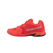 Babolat Jet Allcourt 2018 orange Tennisschuhe Kinder