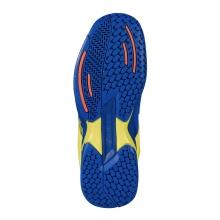 Babolat Propulse Allcourt 2019 blau/gelb Tennisschuhe Kinder