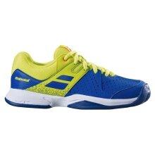 Babolat Pulsion blau/gelb Allcourt-Tennisschuhe Kinder