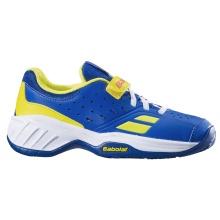 Babolat Pulsion Klett blau Allcourt-Tennisschuhe Kids