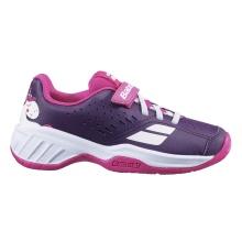 Babolat Pulsion Allcourt Klett 2020 violett Tennisschuhe Kids