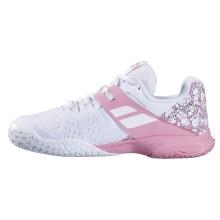 Babolat Propulse Allcourt 2020 weiss/pink Tennisschuhe Kinder