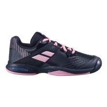 Babolat Propulse Allcourt 2020 schwarz/pink Tennisschuhe Kinder